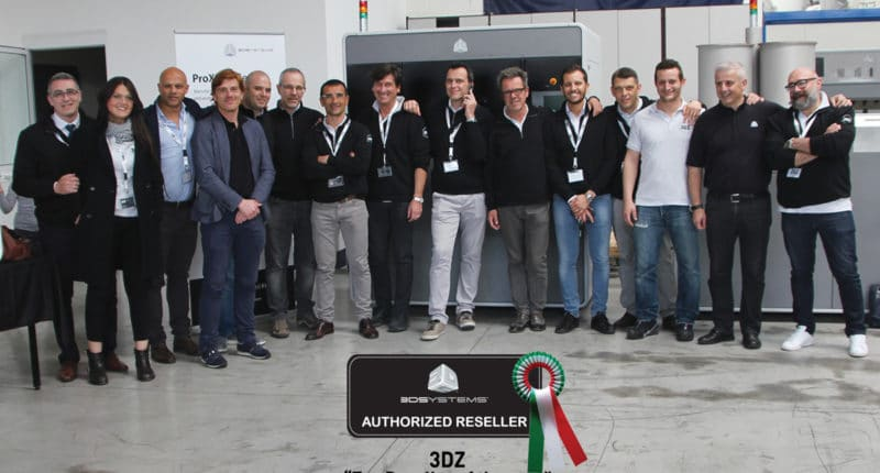 "3DZ ""Top Reseller of the Year"" di 3D Systems nel 2014"