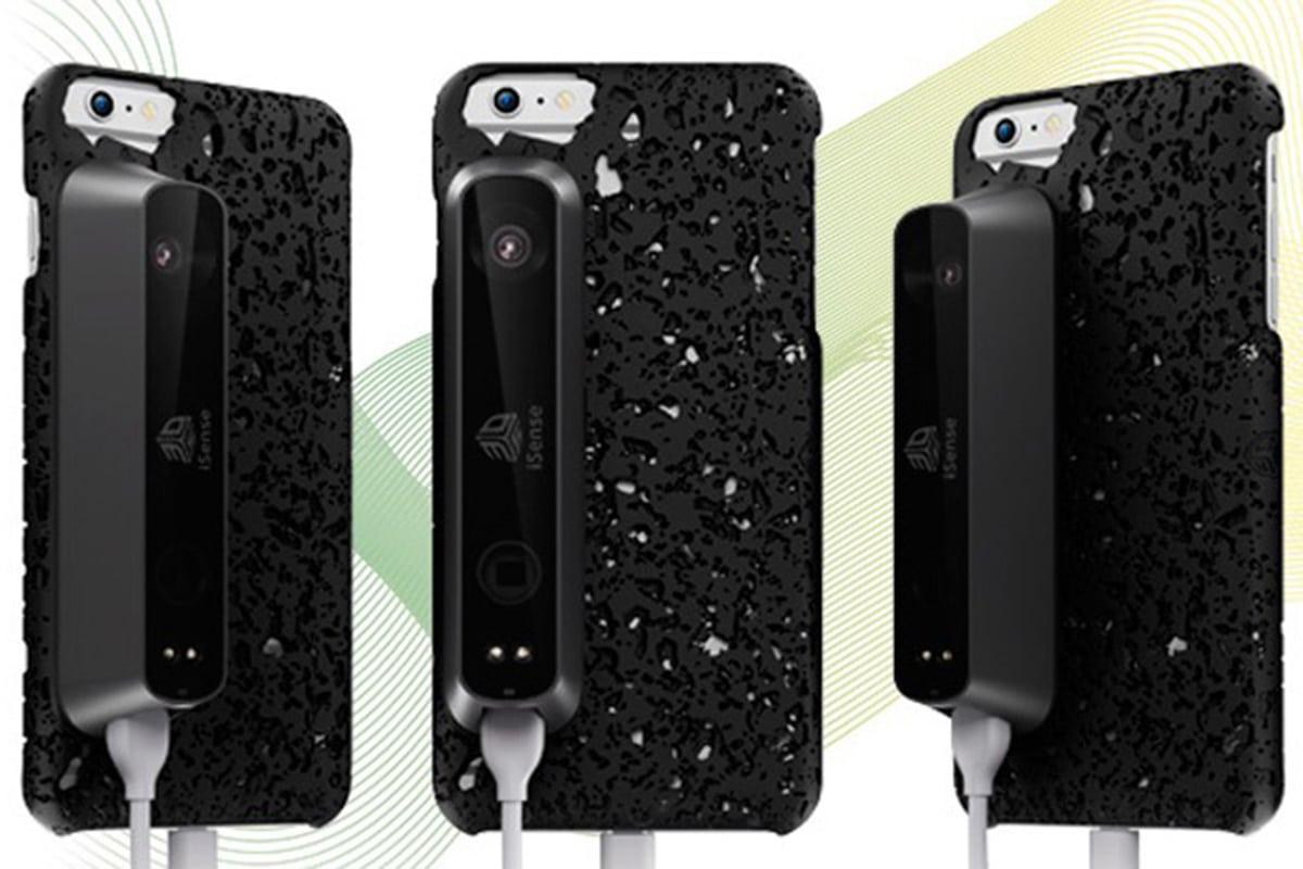 3D Systems presenta lo scanner 3D iSense disponibile per iPhone