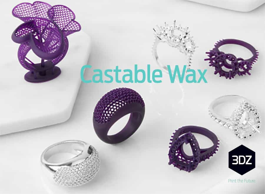 La nuova resina Formlabs: Castable Wax Resin