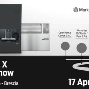 Open House Markforged Metal X – Eurogalvano