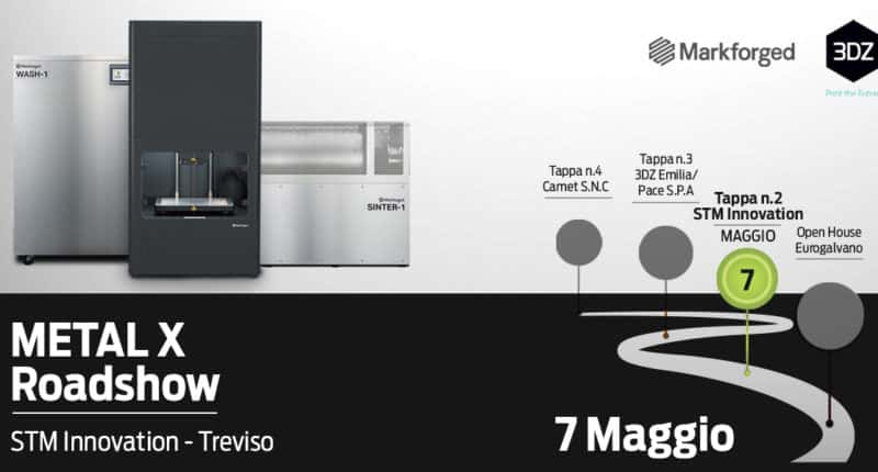 Roadshow Metal X STM Innovation – Treviso