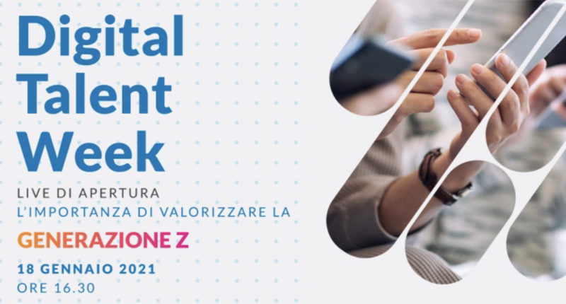 Digital Talent Week – DOVE IL TALENTO INCONTRA L'IMPRESA
